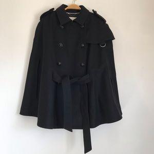 Banana Republic XL Italian wool military cape SzXL
